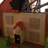 Birthday Cake for a Builder by Dell Khalil