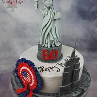 "Birthday Cake ""Liberty"""