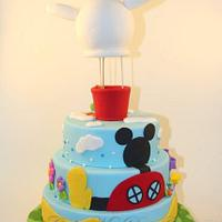 Mickey Mouse Clubhouse by Cake My Day