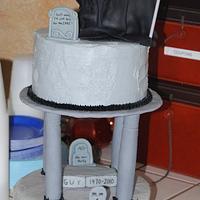 Grim Reaper Cake