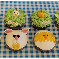 Easter cupcakes by S' Delicacy
