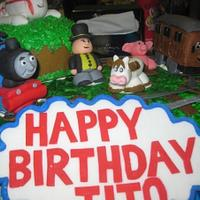 Thomas Birtday Cake