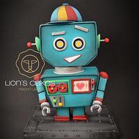 Valentín, el Robot Vintage