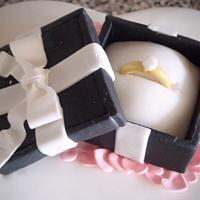 Engagment Cake by Kayleigh