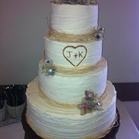 John & Katelyn's Cake