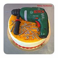 Hammer drill Cake