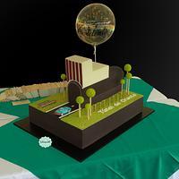 Torta Túnel de Oriente Medellín