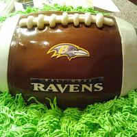 Ravens Football Cake