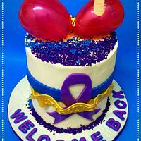 Cancer Survivor Cake