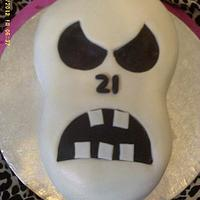 21st Birthday Skull