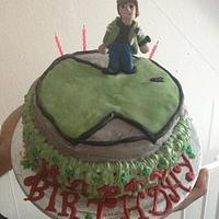 ben ten cake for my son by sumbi