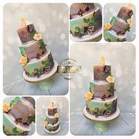 Fantasy butterfly cake