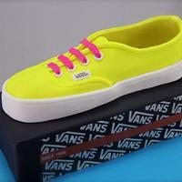 Vans Shoebox Cake by Jo Kavanagh