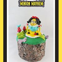 Snow White minion - minion mayhem 2018 Collaboration