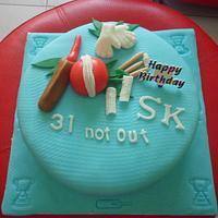 Cricket Lover Cake