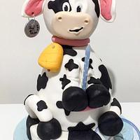Cowwy cow 3d cake