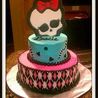5th birthday Monster High cake