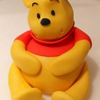 Winnie the Pooh - The start of my cake