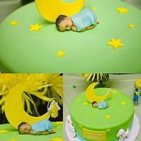 Lullaby Baptism Cake