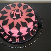 Birthday cake by Susana