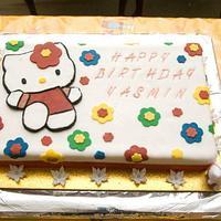 Hello Kitty Cake by NinasCakes