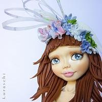 Sugar dolls around the world collaboration - England