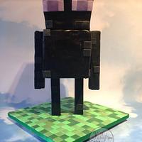 3D standing Enderman minecraft