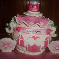 Carraige cake by Enhcanted Cakes on FB