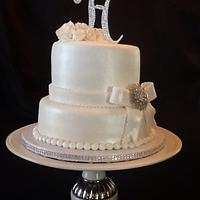 Anniversary cake