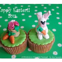 HAPPY EASTER by Ana Remígio - CUPCAKES & DREAMS Portugal