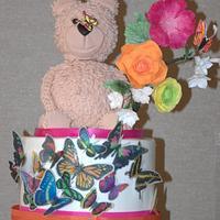 Bear & Butterfly Wedding
