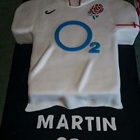 English soccer top