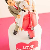 ROMAN HOLIDAY 2 - Be My Valentine Cake Collaboration