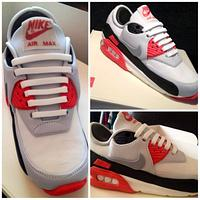 Nike Airmax 90 Cake  by Symphony in Sugar