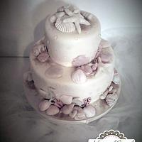 Vintage sea cake