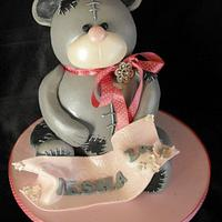 3d me to you bear cake