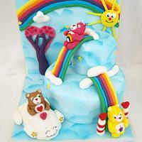 Rainbow fun with the Care Bears