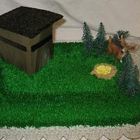 Shoothouse Deer hunting by DoobieAlexander