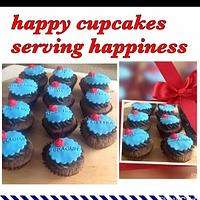 Woman's day cupcakes