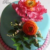 Friends anniversary cake