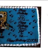 Singing spongebob