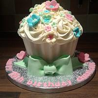 bright summer cake