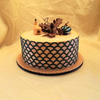 Thanksgiving/Birthday cake