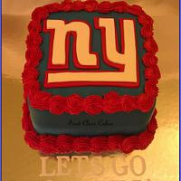 NY GIANTS CAKE        by First Class Cakes