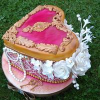 Wedding jewelry box