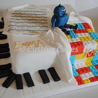 Half Music / Half Lego