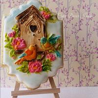 Birdhouse Cookie