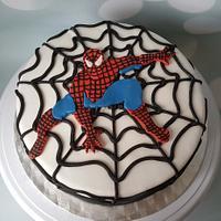 Spiderman cake.