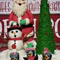 """Deck the halls 2018 """"Santa and the Snowflake Singers"""""""
