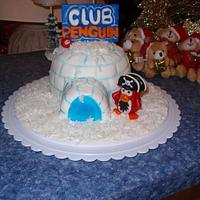 Club Penguin Cake by Dayna Robidoux
